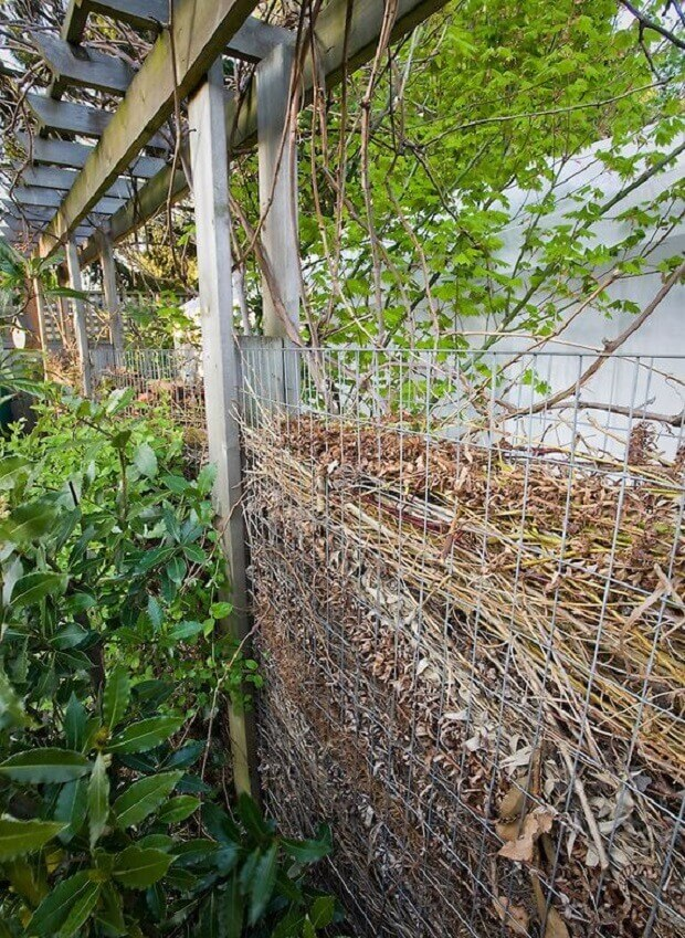 gabion for compost