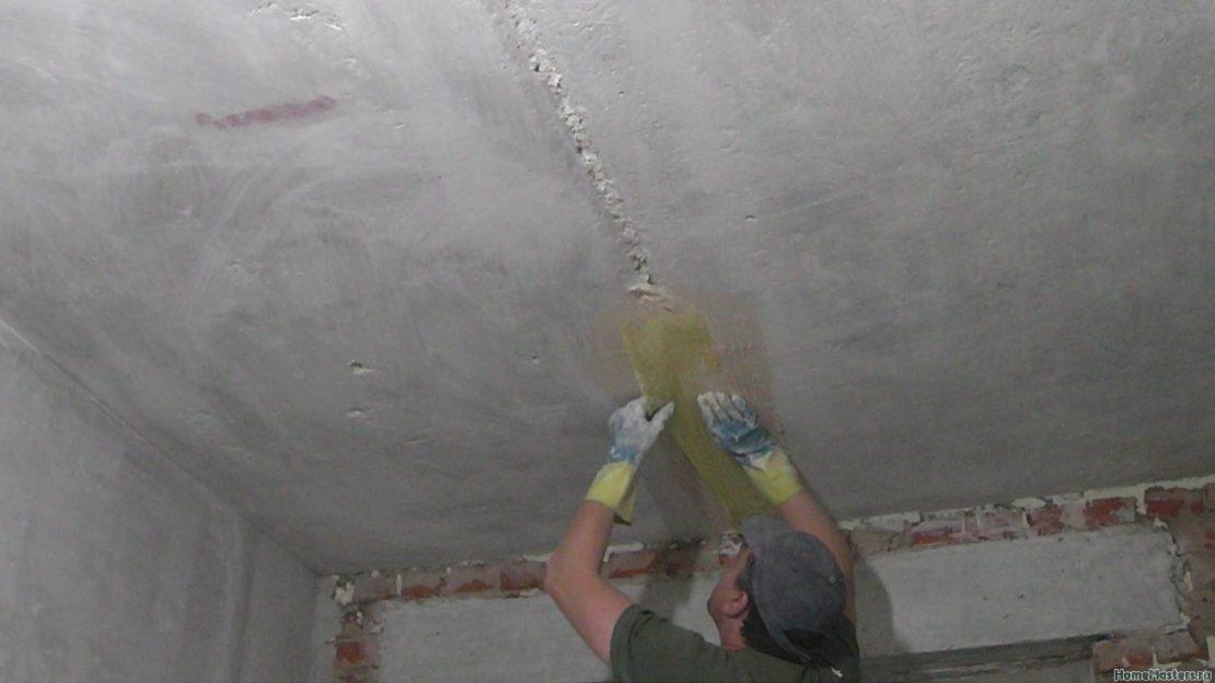 Послойное нанесение бетонной смеси на поверхность строительной конструкции циклы бетона